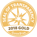2018 Gold Guidestar Seal of Transparency